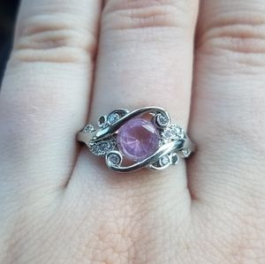 Scented Treasures Sz7 Pink Ring